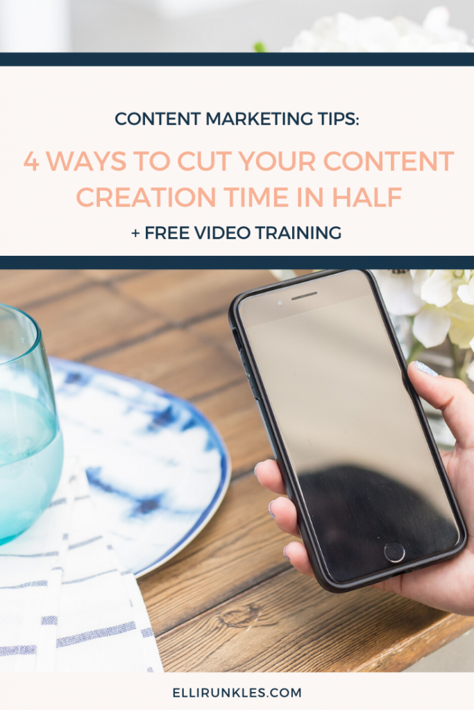 Wanting to cut down on content creation time? This blog includes 4 time-saving tips to help you create simple workflows for your content creation
